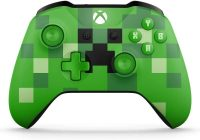 Xbox Wireless Controller / PC Computer - Minecraft Creeper Green Special Limited Edition